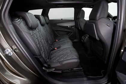 Peugeot 5008 SUV Innenansicht statisch Rücksitze
