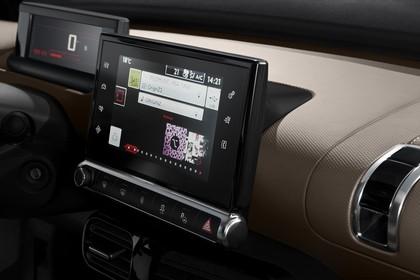 Citroën C4 Cactus Innenansicht statisch Studio Armaturenbrett Detail Infotainmentbildschrim