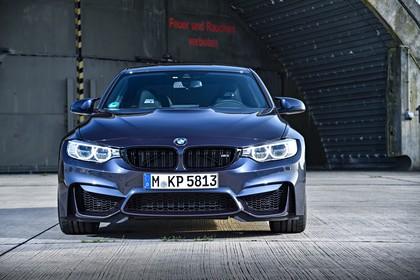 BMW M3 F80 Aussenansicht Front statisch grau
