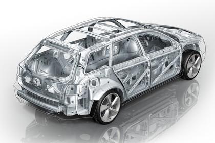 SEAT Exeo ST 3R Facelift Aussenansicht Karosserie Heck schräg erhöht statisch Studio