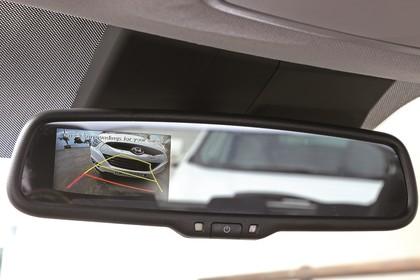 Hyundai i20 GB Innenansicht Detail statisch schwarz