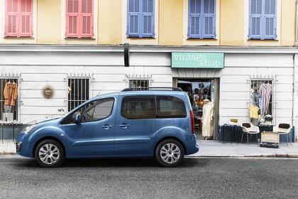 Citroën Berlingo Multispace 7 Aussenansicht Seite statisch blau