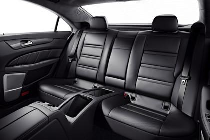 Mercedes-AMG CLS  C218 Innenansicht Rücksitzbank Studio statisch schwarz