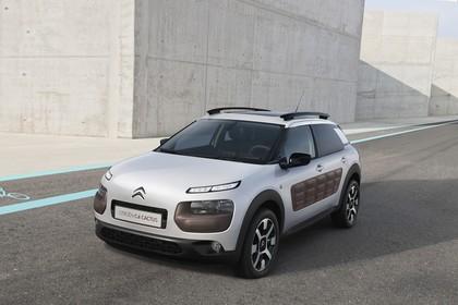 Citroën C4 Cactus Aussenansicht Front schräg statisch weiss