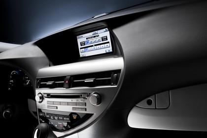 Lexus RX AL1 Studio Innenansicht Detail Multimedia statisch schwarz