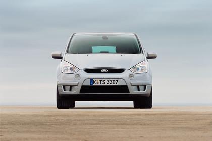 Ford S-Max I Aussenansicht Front statisch silber