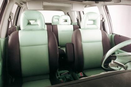 Mazda Premacy CP Innennasicht statisch Studio Innenraum