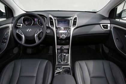 Hyundai i30 Kombi GD/GDH Innenansicht statisch schwarz