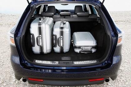 Mazda 6 Kombi GH Innenansicht Kofferraum statisch blau schwarz