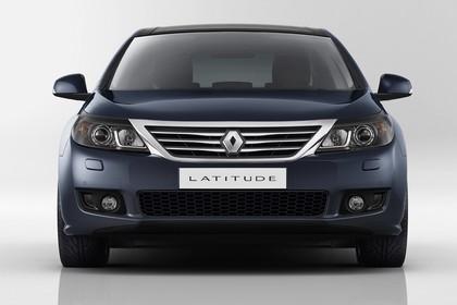 Renault Latitude L70 Aussenansicht Front statisch Studio grau