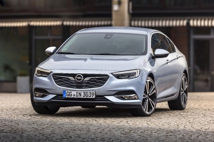 Opel Insignia B Grand Sport Aussenansicht Front statisch silber