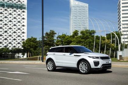 Land Rover Range Rover Evoque Coupé L538 Aussenansicht Seite schräg statisch weiß