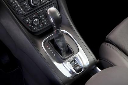 Opel Meriva B Innenansicht Detail Mittelkonsole statisch schwarz