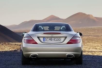Mercedes-Benz SLK 350 R172 Aussenansicht Heck statisch beige