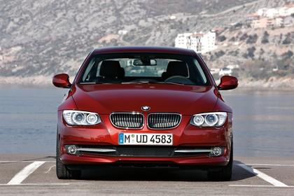 BMW 3er Coupé E92 LCI Aussenansicht Front statisch rot