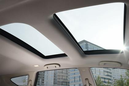 Nissan Murano Z51 Innenansicht Detail Panoramadach statisch beige