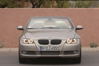 BMW 3er Cabriolet Aussenansicht Front statisch beige