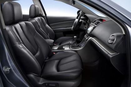 Mazda 6 Limousine GH Studio Innenansicht Front statisch schwarz