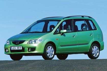 Mazda Premacy CP Aussenansicht Front schräg statisch grün