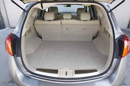 Nissan Murano Z51 Innenansicht Kofferraum statisch beige grau