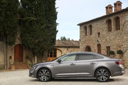 Renault Talisman RFD Aussenansicht Seite statisch grau