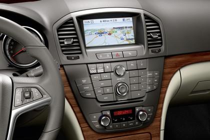 Opel Insignia G09 Sports Tourer Innenansicht Detail Multimedia schwarz