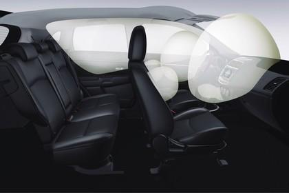 Mitsubishi ASX GAO Innenansicht Detail  statisch schwarz Airbag
