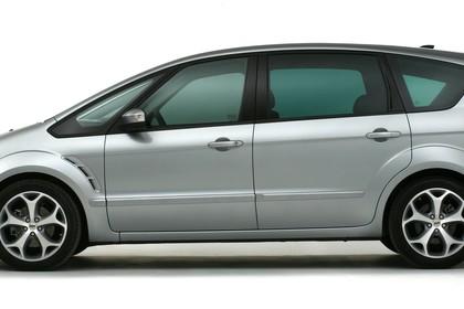 Ford S-Max I Aussenansicht Seite statisch Studio silber