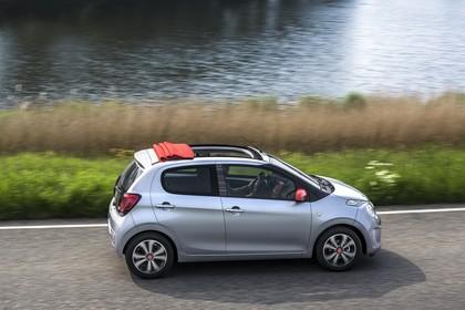 Citroën C1 P Aussenansicht Seite schräg erhöht dynamisch silber