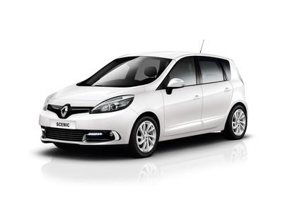 Renault Scenic JZ Facelift Aussenansicht Seite schräg statisch Studio weiss