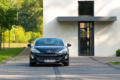 Peugeot RCZ Aussenansicht Front statisch schwarz