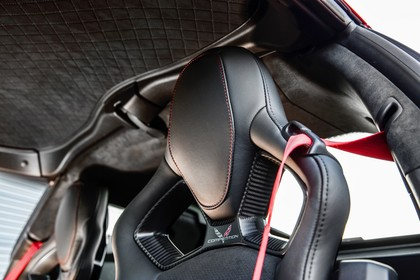 Chevrolet Corvette Grand Sport Coupé Innenansicht statisch Vordersitze fahrerseitig