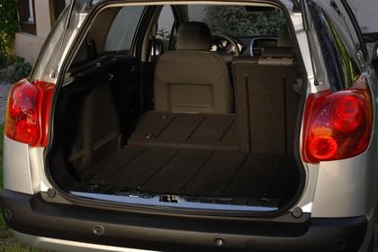 Peugeot 207 SW W Innenansicht statisch Kofferraum Rücksitze 2/3 umgeklappt