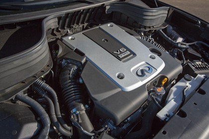 Infiniti QX50 J50 Aussenansicht statisch Detail Motor