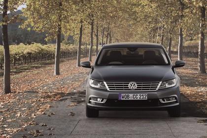 VW CC 3C/35 Facelift Aussenansicht Front statisch grau