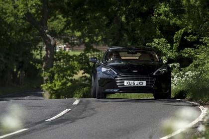 Aston Martin Rapide S Aussenansicht Front dynamisc schwarz