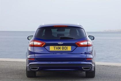 Ford Mondeo Turnier Mk5 Heck statisch blau