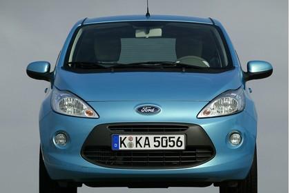 Ford Ka RU8 Aussenansicht Front statisch blau