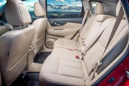 Nissan X-Trail T32 Innenansicht statisch Rücksitze