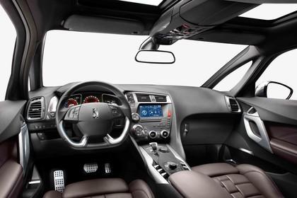 Citroën DS5 K Innenansicht statisch Studio Vordersitze und Armaturenbrett fahrerseitig