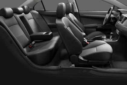 Mitsubishi Lancer CZ0 Innenansicht statisch schwarz