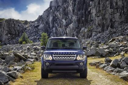 Land Rover Discovery 3/4 Aussenansicht Front statisch blau