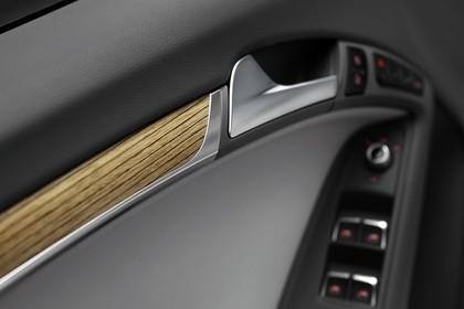 Audi A5 Cabrio Innenansicht Detail Türöffner statisch schwarz