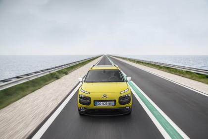 Citroën C4 Cactus Aussenansicht Front dynamisch gelb