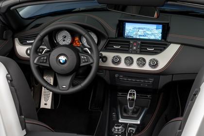 BMW Z4 E89 Innenansicht Cockpit statisch schwarz