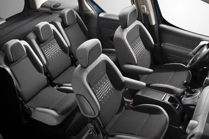 Citroën Berlingo Multispace 7 Innenansicht statisch Studio Innenraum