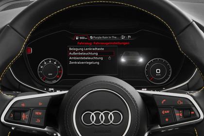 Audi TT 8S Roadster Innenansicht Detail Kombiinstrument statisch schwarz
