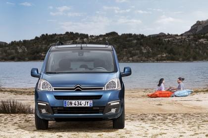 Citroën Berlingo Multispace 7 Aussenansicht Front statisch blau