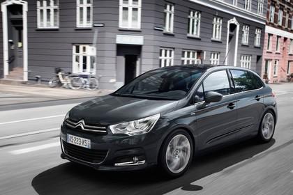 Citroën C4 N Aussenansicht Front schräg dynamisch schwarz