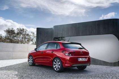 Citroën C4 N Aussenansicht Heck schräg statisch rot